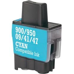 BROTHER kompatibilis LC900 / 950 Cyan utángyártott tintapatron