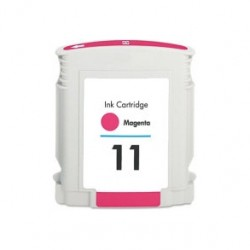 HP kompatibilis 11 (C4837A) Magenta utángyártott tintapatron