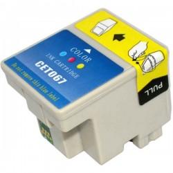 EPSON kompatibilis T067 Color utángyártott lejárt szavatosságú tintapatron