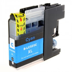 BROTHER kompatibilis LC525XL Cyan utángyártott nagy kapacitású tintapatron