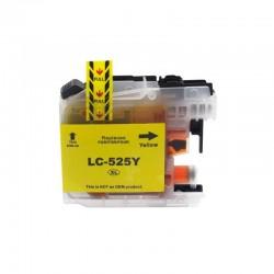 BROTHER Kompatibilis LC525XL Yellow utángyártott nagy kapacitású tintapatron