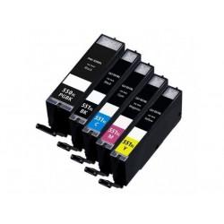CANON kompatibilis PGI550XL / CLI551XL 5db-os utángyártott nagy kapacitású tintapatron csomag/multipack