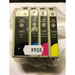 EPSON T0431 / T0442 / T0443 / T0444 lejárt szavatosságú eredeti tintapatron csomag/multipack