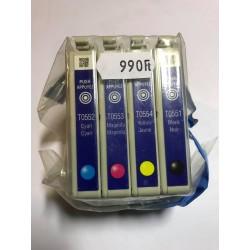 EPS T0611 Black utángyártott tintapatron