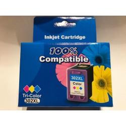 AKCIÓS ÁR! HP kompatibilis 302XL (F6U67AE) Color utángyártott nagy kapacitású tintapatron