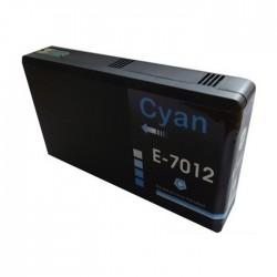 EPSON kompatibilis T7012 Cyan utángyártott nagy kapacitású tintapatron