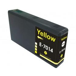 EPSON kompatibilis T7014 Yellow utángyártott nagy kapacitású tintapatron