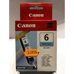 CAN BCI6 Photo Cyan utángyártott tintapatron