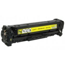 HP kompatibilis CC532A (304A) Yellow utángyártott toner