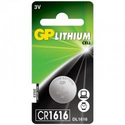 Elem - GP 1616 Lithium Gombelem 3V