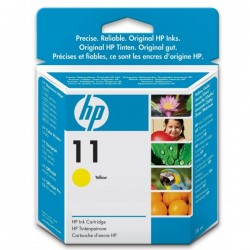 HP 11 (C4838A) Yellow eredeti lejárt szavatosságú tintapatron