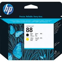 HP 88 (C9381A) Black+Yellow Printhead eredeti lejárt szavatosságú nyomtatófej
