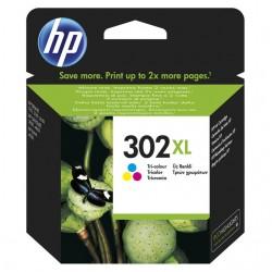 HP 302XL (F6U67AE) Color eredeti nagy kapacitású tintapatron