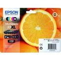 """EPSON 33XL (T3357) """"Narancs"""" Multipack eredeti nagy kapacitású tintapatron csomag"""