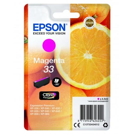 """EPSON 33XL (T3351) """"Narancs"""" Black eredeti nagy kapacitású tintapatron"""