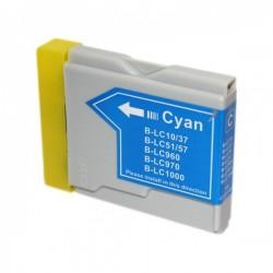 BROTHER Kompatibilis LC1000 / 970 / 960 Cyan utángyártott tintapatron