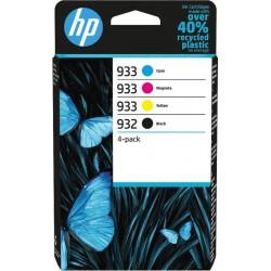 HP 932XL / 933XL (C2P42AE) 4 db-os eredeti nagy kapacitású tintapatron csomag
