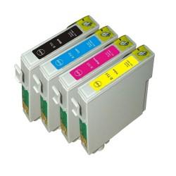 EPS T0715 4db-os utángyártott tintapatron csomag