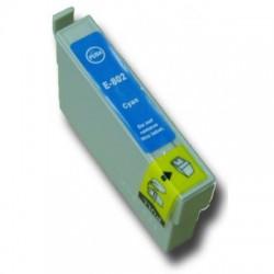 EPS T0802 Cyan utángyártott tintapatron
