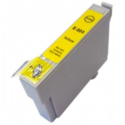 EPS T0804 Yellow utángyártott tintapatron