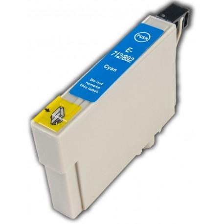 EPS T0712 / T0892 Cyan utángyártott tintapatron