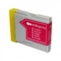 BROTHER Kompatibilis LC1000 / 970 / 960 Magenta utángyártott tintapatron