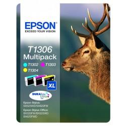 """EPSON T1306XL Color """"szarvas"""" eredeti tintapatron csomag"""
