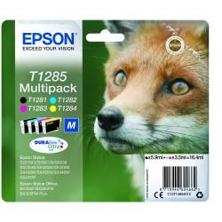 """EPSON T1285 """"M"""" """"Róka"""" 4 db-os eredeti tintapatron csomag"""