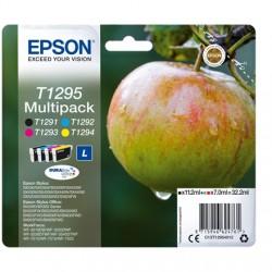 """EPSON T1295 """"L"""" """"Alma"""" 4 db-os eredeti tintapatron csomag"""