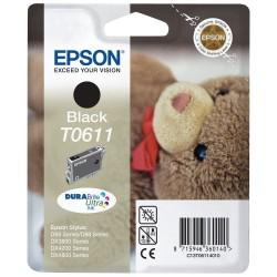"""EPSON T0611""""Maci"""" Black eredeti tintapatron"""