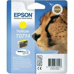 """EPSON T0714 """"Gepárd"""" Yellow eredeti tintapatron"""