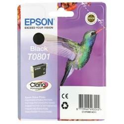 EPSON T0801 Black eredeti tintapatron