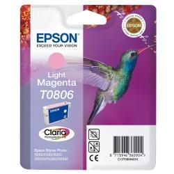 """EPSON T0806 """"Kolibri"""" Light Magenta eredeti tintapatron"""