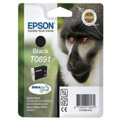 """EPSON T0891""""Majom"""" Black eredeti tintapatron"""