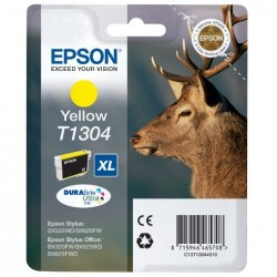 """EPSON T1304XL """"Szarvas"""" Yellow eredeti tintapatron"""