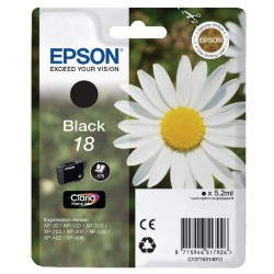 """EPSON 18 (T1801) """"Margaréta"""" Black eredeti tintapatron"""