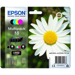 """EPSON 18 (T1806) """"Kamilla"""" 4 db-os eredeti tintapatron csomag"""