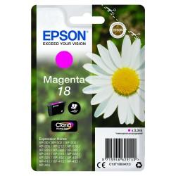 """EPSON 18 (T1803) """"Margaréta"""" Magenta eredeti tintapatron"""