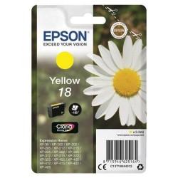 """EPSON 18 (T1804) """"Margaréta"""" Yellow eredeti tintapatron"""