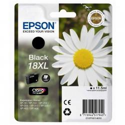 """EPSON 18XL (T1811) """"Margaréta"""" Black eredeti nagy kapacitású tintapatron"""