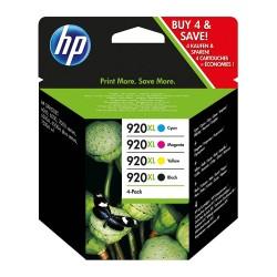 HP 920XL (C2N92AE) 4 db-os eredeti nagy kapacitású tintapatron csomag