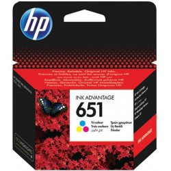HP 651 (C2P11AE) Color eredeti tintapatron