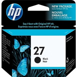 HP 27 (C8727AE) Black eredeti tintapatron