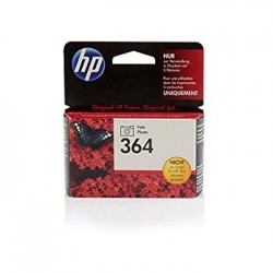 HP 364 (CB317EE) Photo Black / Fotó fekete eredeti tintapatron