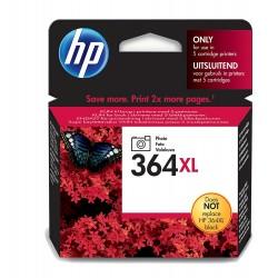 HP 364XL (CB322EE) Photo Black / Fotó fekete eredeti nagy kapacitású tintapatron