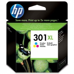 HP 301XL (CH564EE) Color nagy kapacitású tintapatron