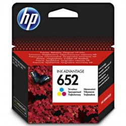 HP 652 (F6V24AE) Color eredeti tintapatron