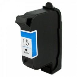 H 15 (C6615) Black utángyártott tintapatron