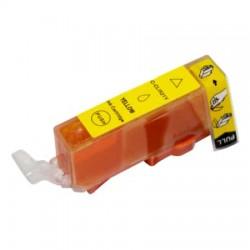 CAN CLI521 Yellow utángyártott tintapatron