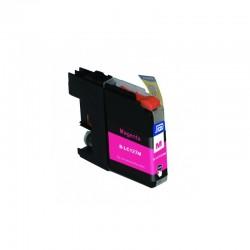 BROTHER Kompatibilis LC123 Magenta utángyártott tintapatron